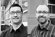 Gareth Loveridge and Mike Koski-Harja